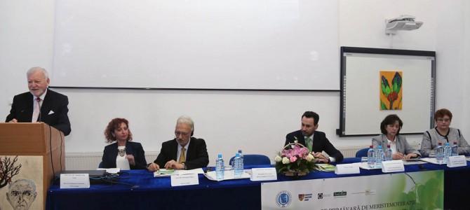 """Şcoala de Primăvară de Meristemoterapie, ediția a II-a, în organizarea Universitatea de Vest """"Vasile Goldiș"""""""