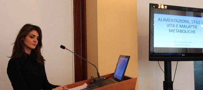 Conferință pe teme de nutriție, în desfășurarea UVVG